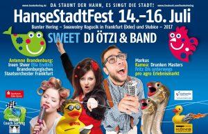 "HanseStadtFest ""Bunter Hering"" – Frankfurt 14.07. - 16.07.2017"